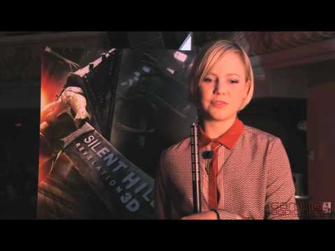 SILENT HILL: REVELATION 3D Interview with Adelaide Clemens from Konami Gamers Night