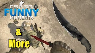 GIVEAWAY WINNER!!&AWP CLUTCH CS GO Funny Moments & More in Competitive