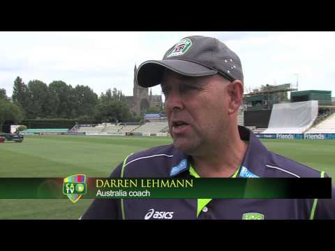 Darren Lehmann announces first Ashes Test openers