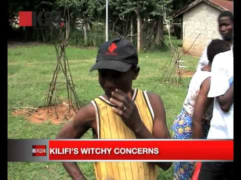 Kilifi's witchy concerns Video