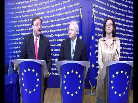 EU-Georgia - Visa facilitation agreement signature: Press Conference