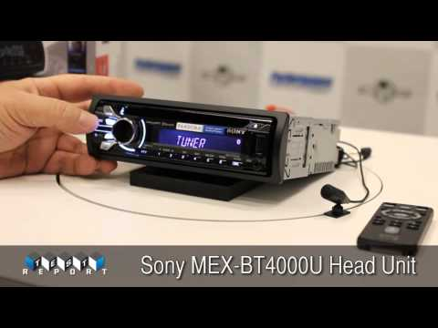 Sony MEX-BT4000U Head Unit