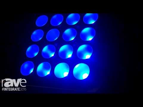 Integrate 2016: Event Lighting Exhibits Its LED Chip on Board PAR Line