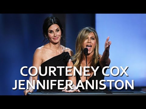 Courteney Cox and Jennifer Aniston to George Clooney: 'You're Welcome!