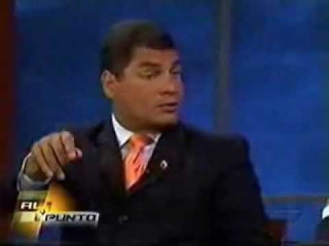 Segun Correa en cuba no hay dictadura