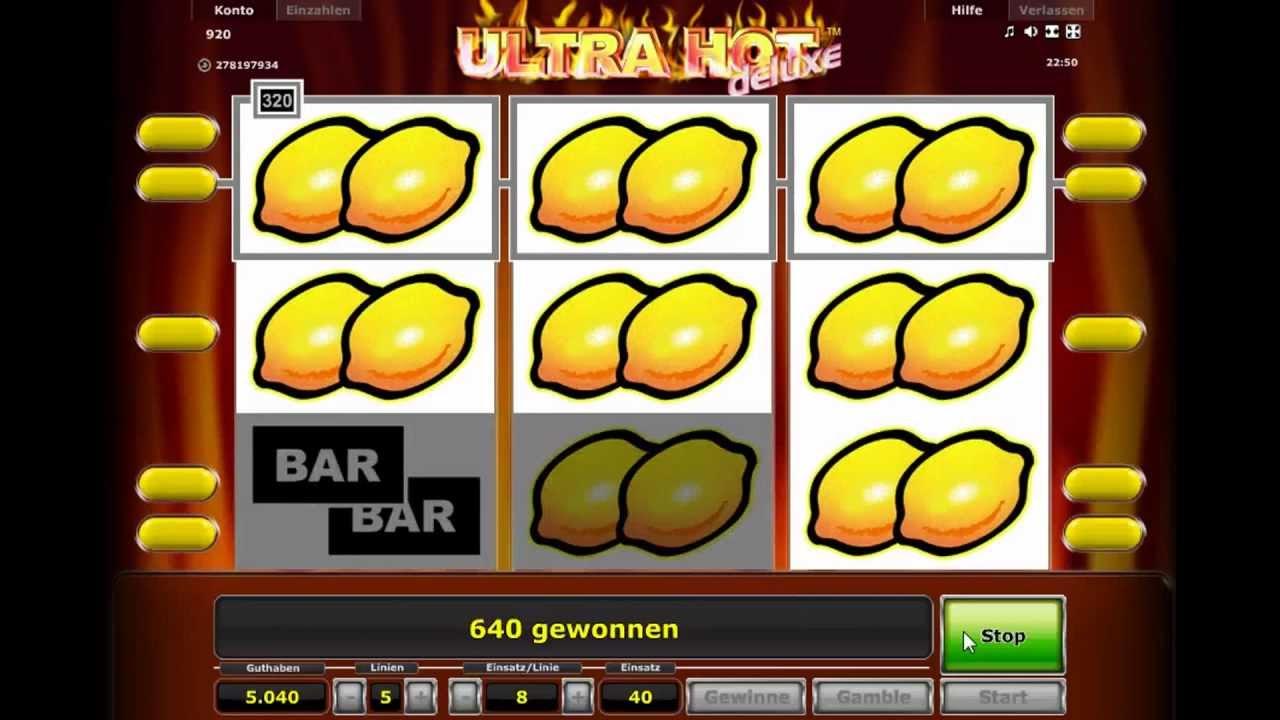 ultra hot online spielen