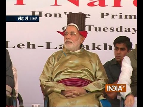 My Govt Will Fight Corruption With Full Might, Says PM Narendra Modi In Leh - India TV