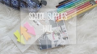 School Supplies Haul #backtoschool