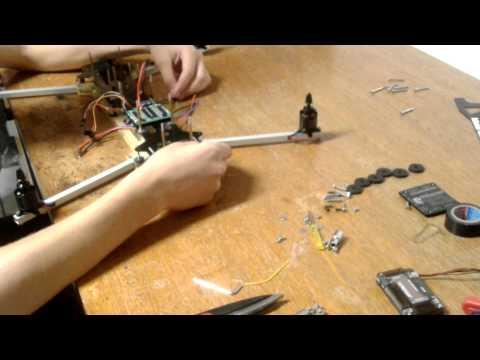 DIY Quadcopter Build Timelapse - FPV Team Pylo