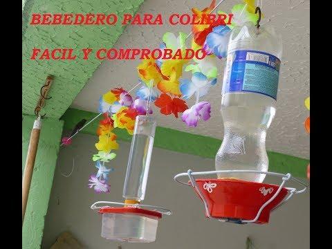 Bebedero para colibrìes paso a paso facil y probado