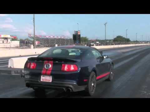 2011 Shelby GT500 Track Test