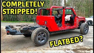 Rebuilding A Wrecked 2020 Jeep Gladiator Rubicon Part 3