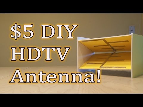 how to build a tv antenna for free