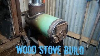 Wood stove build
