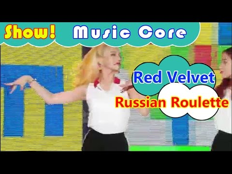 [HOT] Red Velvet - Russian Roulette, 레드벨벳 - 러시안 룰렛 Show Music core 20161001