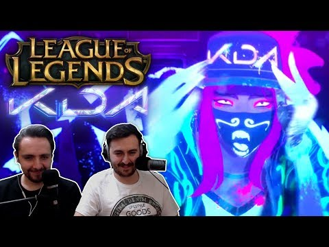 "Download ""K/DA - POP/STARS ft Madison Beer, GI-DLE, Jaira Burns 