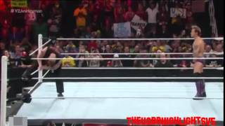 Brock Lesnar Returns and F5 Chris Jericho - RAW 12/15/14