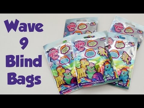 My Little Pony Wave 9 Blind Bags