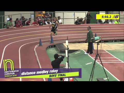 B DMR H02 (St. Benedict's Tc-Nj 10:10.08, HS Indoor Nationals 2012)