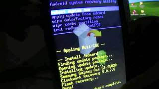 How To Install Clockwork Recovery Mode On Galaxy Ace