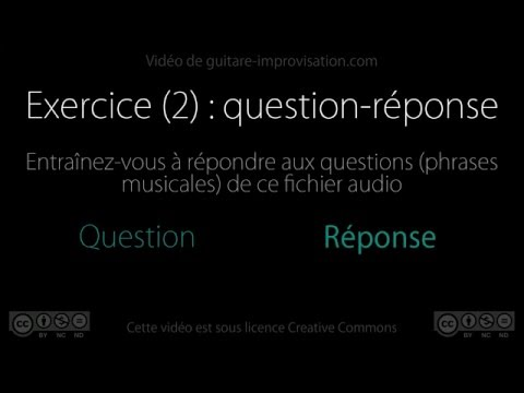 Impro Do Blues : Question-Réponse (2) (Q&A)