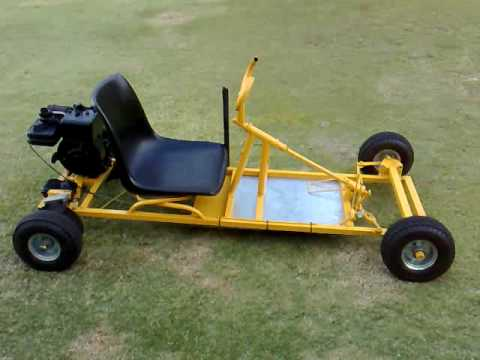 How I built my go kart pt1