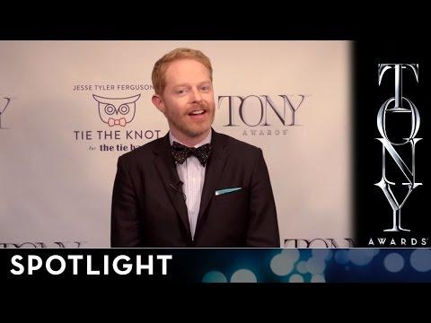 2014 Tony Awards: Jesse Tyler Ferguson's Tie the Knot Tony Bow Tie