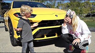 JoJo Siwa CRASHED our LAMBORGHINI!!