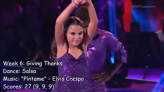 💃 Ariana Greenblatt - Dancing With The Stars: Juniors Performances