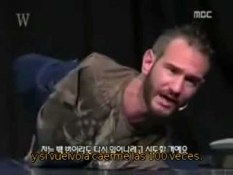 Nick Vujicic (Subtitulado) - Vas a acabar siendo fuerte?