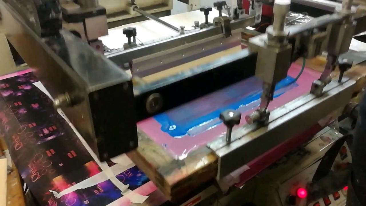 Трафаретная печать на картоне своими руками 78