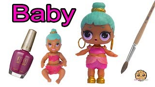 DIY Custom LOL Surprise Genie As Barbie Baby ! Painting Craft Video