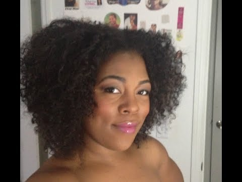 How To Make Clip In Extensions For Natural Hair Youtube