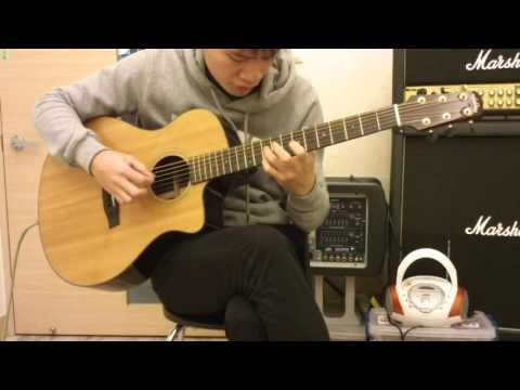 (Sungha Jung)Gravity - covered by 東(Bariton Guitar)