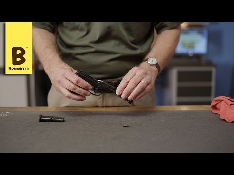 Firearm Maintenance: Ruger LCP Reassembly Part 4/4