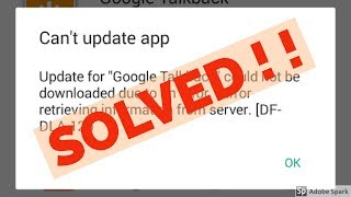 how to fix Error retrieving information from server[DF-DLA-12]|google play
