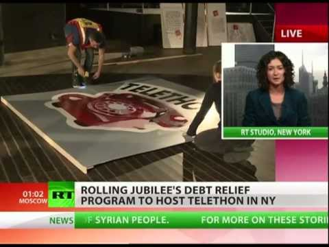 OWS' 'Rolling Jubilee' telethon to bailout America