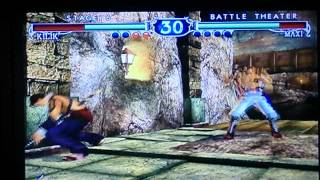 Soul Calibur 2-Kilik vs Maxi