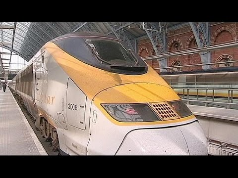 """توقف حركة القطارات """"يوروستار"""" الرابطة بين فرنسا و بريطانيا، بسبب رصد دخان في نفق """"يوروتانل"""" تحت…"""