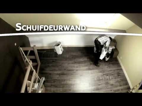 Per M² - Doe het zelf met Roger : Schuifdeurwand - YouTube