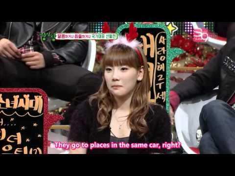 091222 Strong Heart Ep 12 - Taeyeon, Hyoyeon & Seohyun Cut 1 2 video