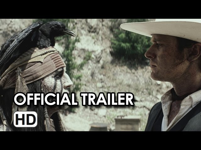 The Lone Ranger Final Theatrical Trailer (2013) - Johnny Depp, Armie Hammer
