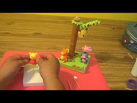 Winnie the Pooh y sus amigos en pasta flexible 4/4