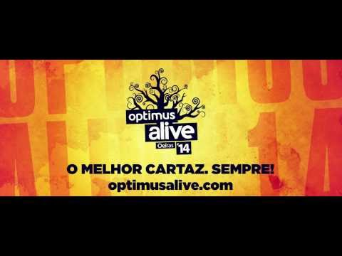 Optimus Alive'14 | 10 • 11 • 12 JUL | Passeio Mar�timo de Alg�s