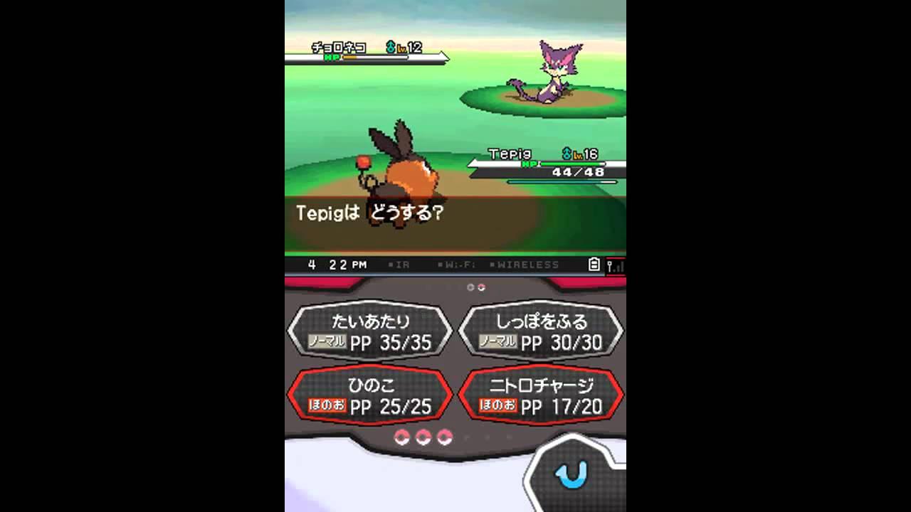Black Pokemon Names Pokemon Black And White