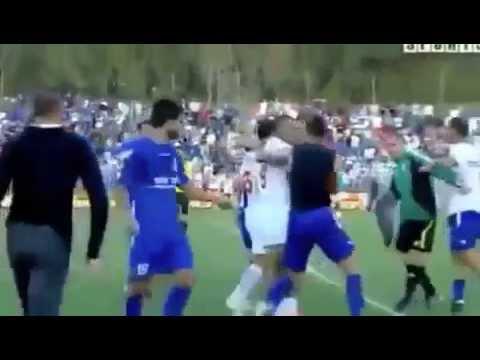 Perkelahian sepakbola lucu