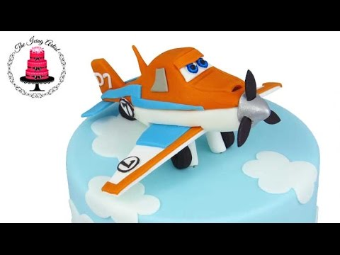 How To Make A Fondant Airplane Cake Topper