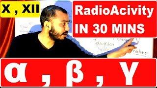 RadioActivitY 03 : ALPHA BETA GAMMA Emission & PROPERTIES  : Class X , XII
