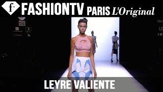 Leyre Valiente Spring/Summer 2015 | Mercedes-Benz Fashion Week Madrid | FashionTV