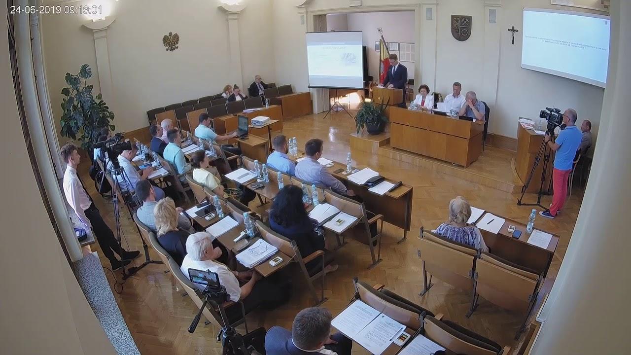 XVI sesja Rady Miejskiej 25.06.2019